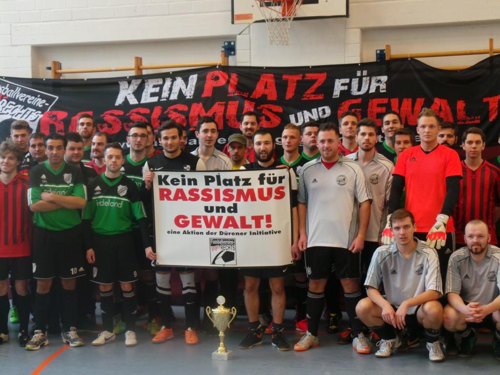 Die beteiligten Mannschaften