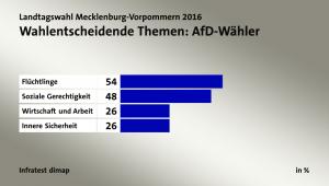 Entscheidende Themen für die AFD - Wähler